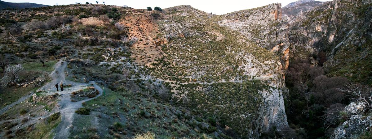 Guía de Escalada. Los Cahorros de Monachil  Zonas de escalada